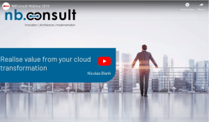 ITWeb Webinar – Realise value from your cloud transformation
